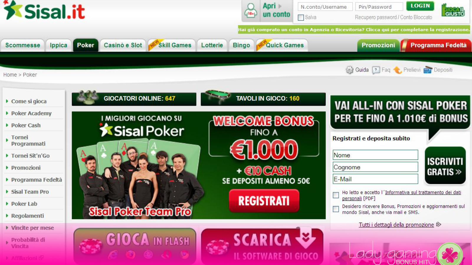 Sisal Group,incassi da 215,1 milioni(+14,9%)